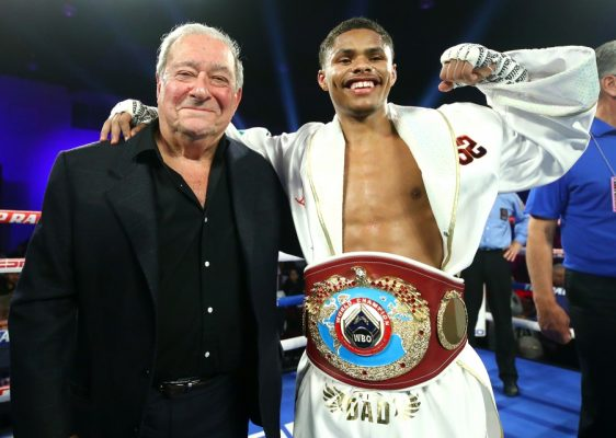 Placing 22-year-old Shakur Stevenson (13-0, 7 KOs) might seem like a bit of a brazen choice, but if you take a deep dive into his fighting style, you'll quickly see that's it's not.