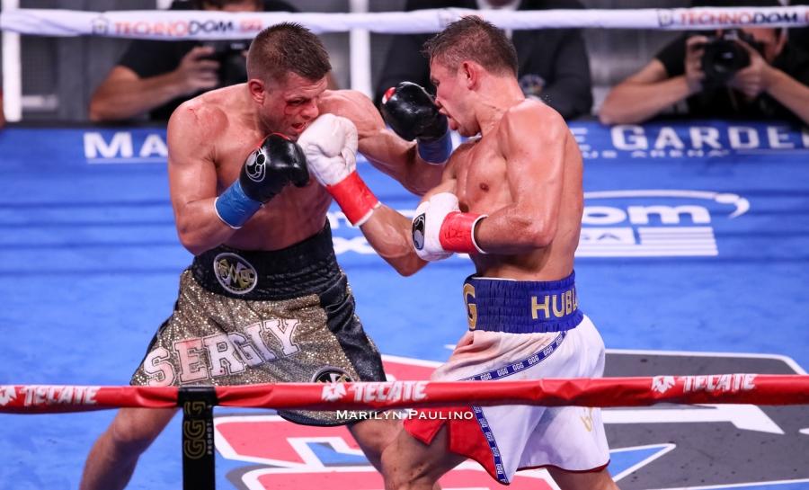 Gennadiy Golovkin defeats Sergiy Derevyanchenko