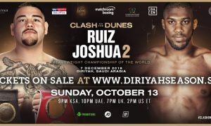 Ruiz vs. Joshua 2 Tickets