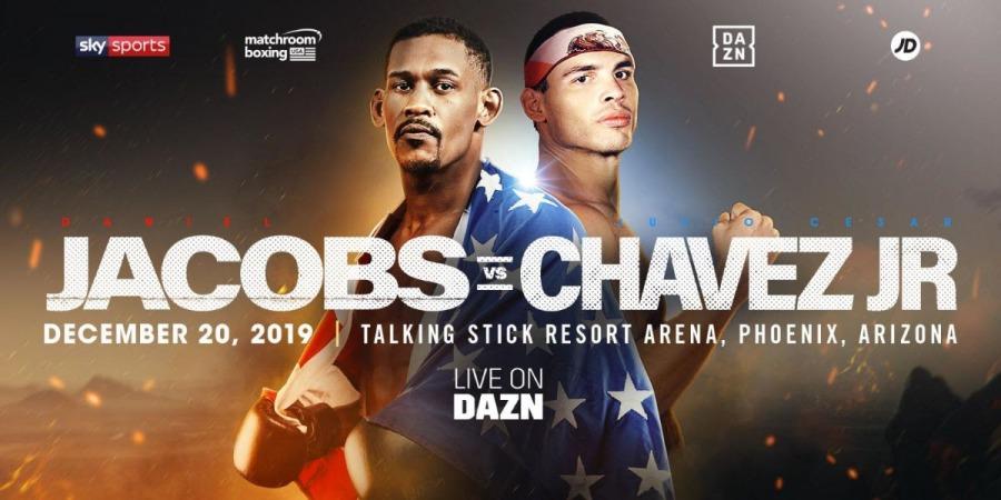 Daniel Jacobs vs. Julio Cesar Chavez Jr.