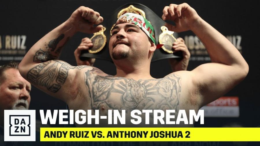 Ruiz vs. Joshua 2 Weigh In
