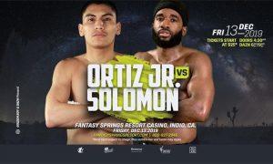 Vergil Ortiz vs. Brad Solomon