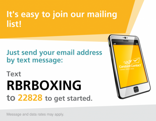 RBRBoxing Email List