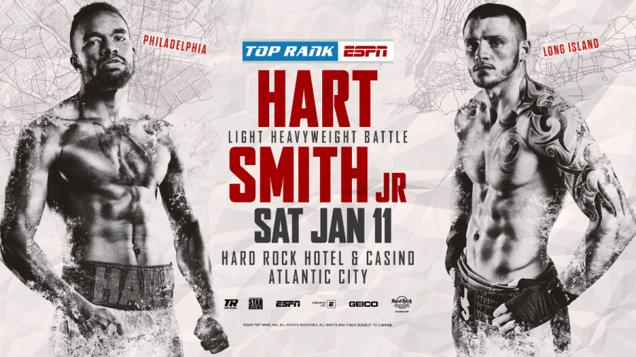 Image result for jesse hart vs. joe smith jr poster