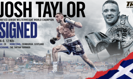 Josh Taylor Signs with Top Rank
