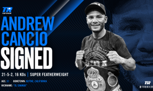 Andrew Cancio Top Rank