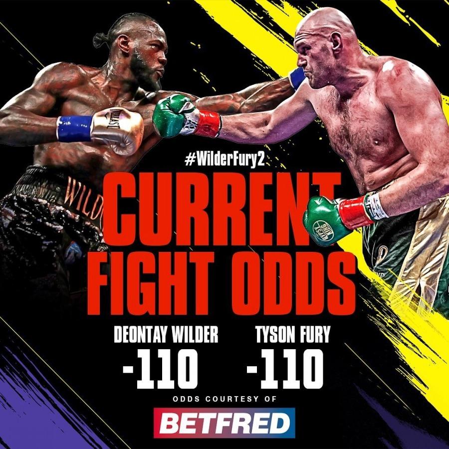 Wilder vs fury betting odds vegas sport betting odds