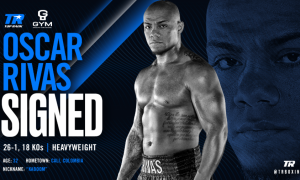 Oscar Rivas Signs with Top Rank