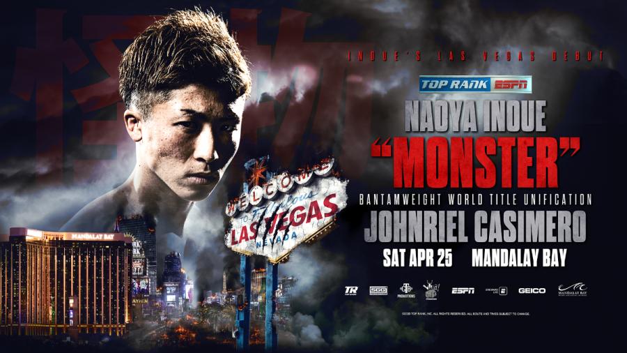 Naoya Inoue Battles Johnriel Casimero