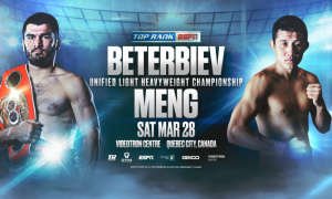 Artur Beterbiev Returns March 28 Against Meng Fanlong
