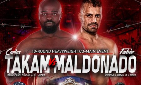 "Carlos Takam Added to February 28 ""Rockin' Fights"""