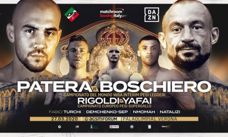 Patera and Boschiero Clash