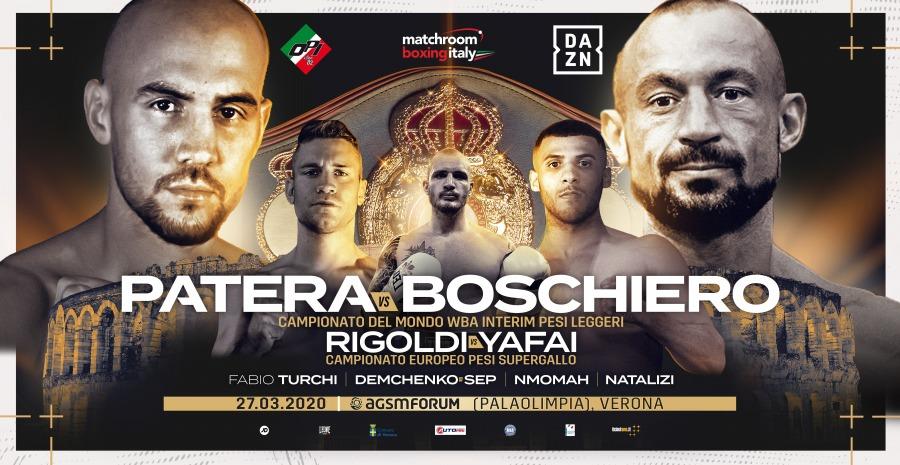 Patera and Boschiero Clash