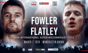 Anthony Fowler vs. Jack Flatley