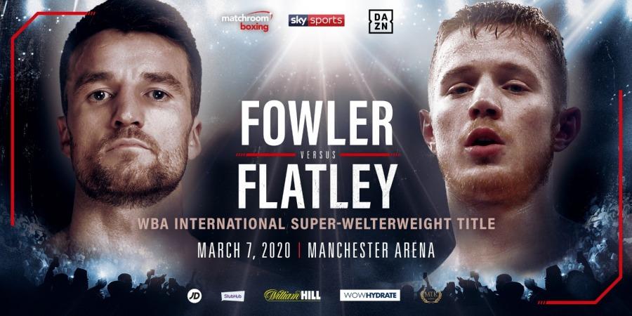 Anthony Fowler vs. Jack Flatley