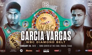 Garcia vs. Vargas WBC Diamond Belt
