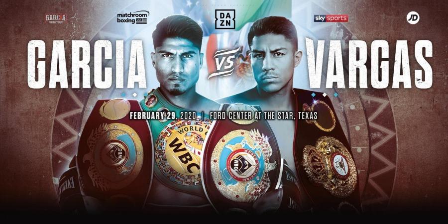 Garcia vs. Vargas Fight Results