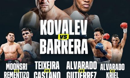 Sergey Kovalev Battles Sullivan Barrera April 25 on DAZN