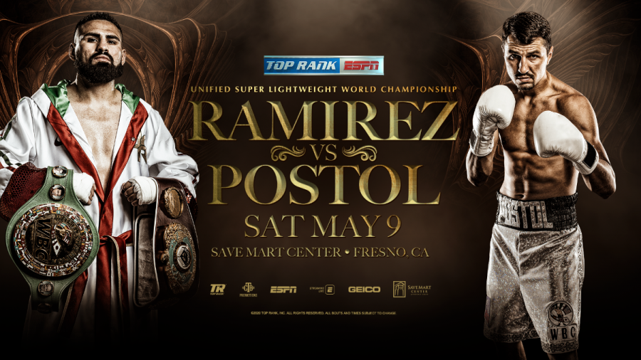Jose Ramirez-Viktor Postol Set for May 9 in Fresno