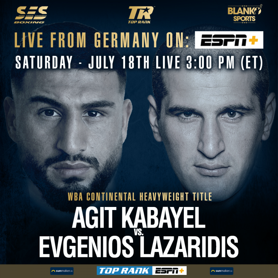 Agit Kabayel to face Evgenios Lazaridis