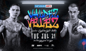 Oscar Valdez vs. Jayson Velez Fight Results
