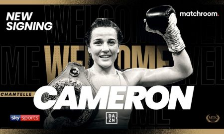 Chantelle Cameron Signs With Matchroom Boxing