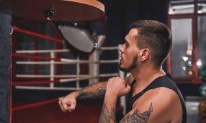 Boxing Speed Bag Training