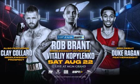 Rob Brant vs. Vitaliy Kopylenko