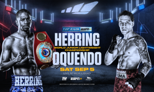 Jamel Herring vs. Jonathan Oquendo
