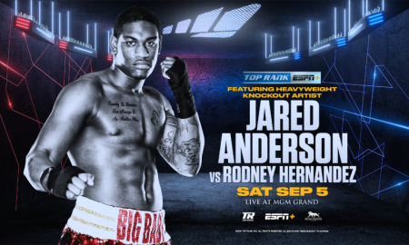 Jared Anderson Returns Against Rodney Hernandez