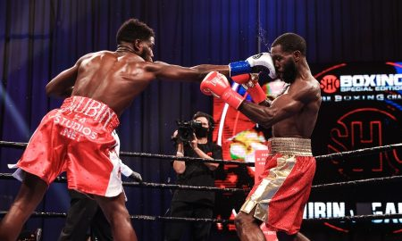 Erickson Lubin vs. Terrell Gausha Fight Night