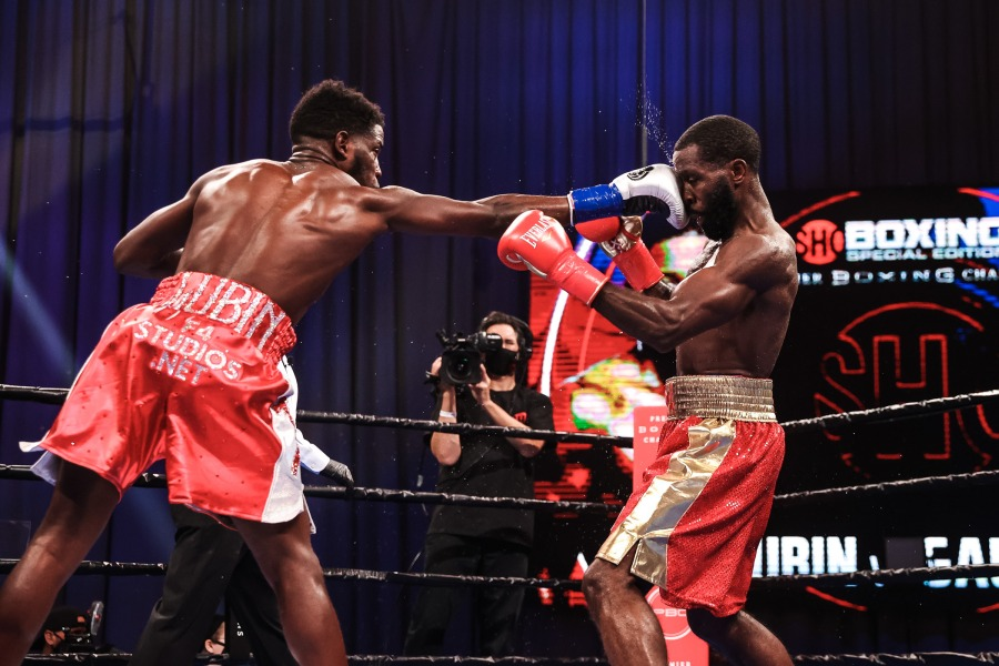 Erickson Lubin vs. Terrell Gausha Fight Night