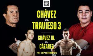 DAZN to Stream Chavez Doubleheader