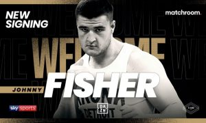 Heavyweight Johnny Fisher Signs With Matchroom Boxing