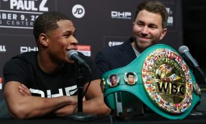Devin Haney Eddie Hearn