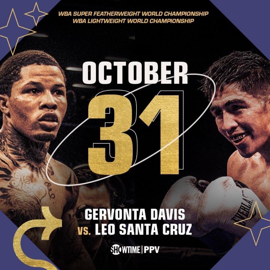 Gervonta Davis vs. Leo Santa Cruz