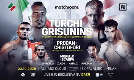 Live Boxing Returns To Italy on DAZN