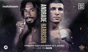 Demetrius Andrade vs. Dusty Hernandez Harrison