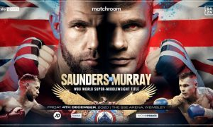 Saunders vs. Murray Lands on December 4