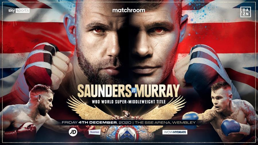 Saunders vs. Murray Lands on December 4