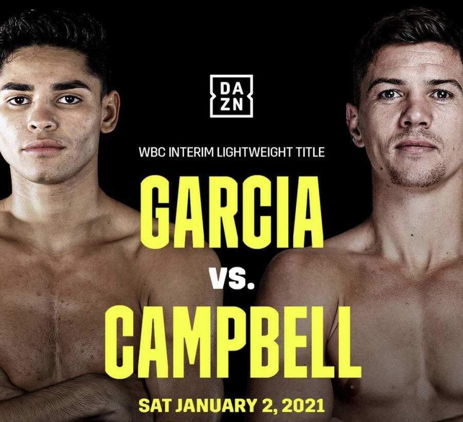 Ryan Garcia Vs Luke Campbell Fight Results Round By Round Boxing