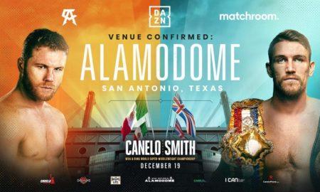 Alamodome Hosts Canelo vs. Smith
