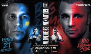 Gennadiy Golovkin Returns December 18 on DAZN