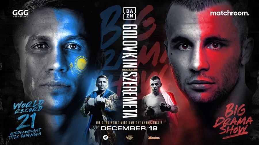 Gennadiy Golovkin Returns December 18 on DAZN