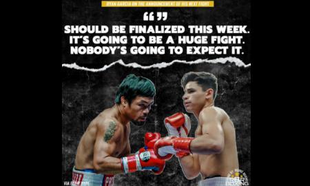 Manny Pacquiao vs. Ryan Garcia