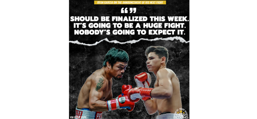 Manny Pacquiao vs. Ryan Garcia