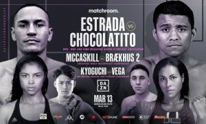 McCaskill-Brækhus and Kyoguchi-Vega Added To Estrada-Chocolatito Card