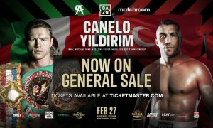 Tickets for Canelo Alvarez vs. Avni Yidirim on Sale