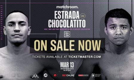 Estrada vs. Chocolatito Tickets on Sale Now!