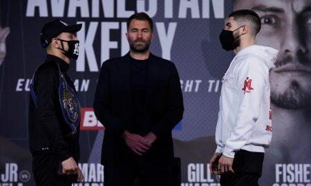 David Avanesyan vs. Josh Kelly Press Conference Face Off